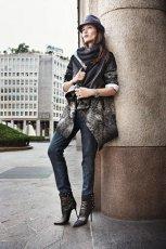 czarne botki Prima Moda na szpilce - jesie�/zima 2011/2012
