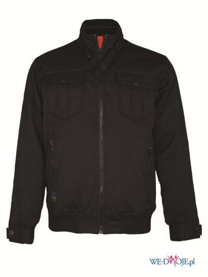 czarna kurtka Top Secret - kolekcja jesienno-zimowa