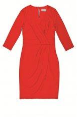 czerwona sukienka Aryton - z kolekcji jesie�-zima
