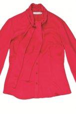 czerwona bluzka Aryton - zima 2011/2012