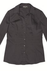czarna koszula Aryton - trendy na jesie�-zim�