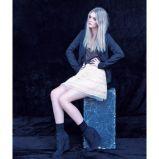 czarna marynarka Bershka - moda jesienna