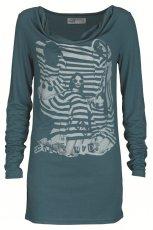 morska bluzka Troll z aplikacj� - kolekcja jesienno-zimowa