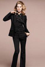 czarny garnitur H&M - jesie�/zima 2011/2012