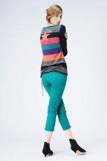 turkusowy spodnie Promod - kolekcja jesienna