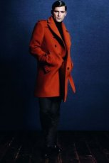 pomara�czowy p�aszcz ZARA - jesie�/zima 2011/2012