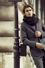 grafitowy garnitur Reserved - kolekcja jesienno-zimowa