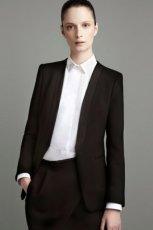 czarna marynarka ZARA - moda 2011/2012