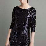 czarna sukienka ZARA - jesie�/zima 2011/2012