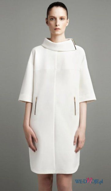 bia�a sukienka ZARA - jesie�/zima 2011/2012