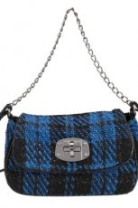 torebka Tosca Blu w kratk� - sezon jesienno-zimowy