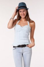 b��kitna bluzka Bershka w groszki - kolekcja jesienna