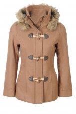 be�owy p�aszcz H&M - jesie�/zima 2011/2012