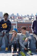 granatowa bluza Adidas - jesie� 2011