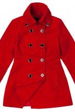 czerwona kurtka Reserved - moda 2011/2012