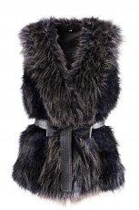 czarna kamizelka H&M - jesie�/zima 2011/2012