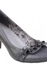 szare pantofle CCC - jesie�/zima