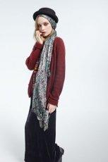 bordowy sweter Topshop - moda jesie�/zima