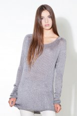 szary sweter Stradivarius - moda 2011