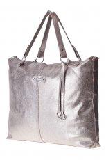 srebrna torebka Stradivarius - z kolekcji jesie�-zima