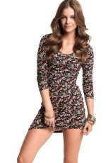 sukienka H&M w ��czk� - jesie� 2011