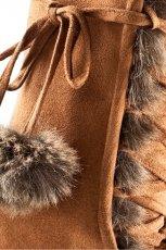 br�zowe kozaki H&M - jesie�/zima 2011/2012