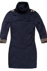 niebieska sukienka Reserved - jesie�/zima 2011/2012