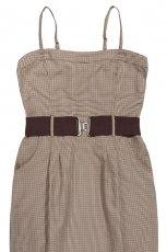 br�zowa sukienka Reserved - jesie�/zima 2011/2012