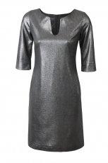srebrna sukienka Simple - trendy na jesie�-zim�