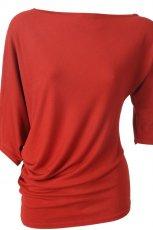 czerwona bluzka Solar - kolekcja jesienna