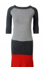 szara sukienka Solar - kolekcja jesienno-zimowa