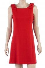 czerwona sukienka Camaieu - jesie�-zima 2010/2011