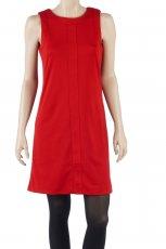 czerwona sukienka Camaieu - jesie� 2011