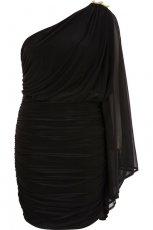 czarna sukienka River Island - jesie�/zima 2011/2012