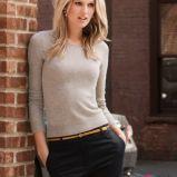 szary sweter H&M - kolekcja jesienno-zimowa