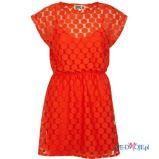 czerwona sukienka River Island - jesie�/zima 2011/2012