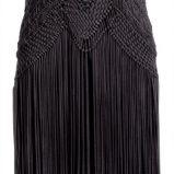 czarna sukienka H&M - jesie�/zima 2011/2012