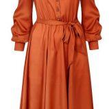 czerwona sukienka Wallis - jesie�/zima 2011/2012