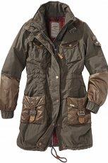 khaki kurtka s.Oliver - jesie�/zima 2011/2012