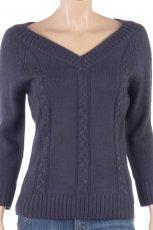 fioletowy sweter Camaieu - jesie�/zima 2011/2012