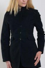 czarny p�aszcz Orsay - jesie�/zima 2011/2012