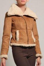 be�owy kurtka Orsay z ko�uszkiem - jesie�/zima 2011/2012