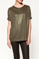 bluzka ZARA w paski - moda jesienna