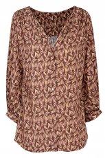be�owa bluzka Wallis we wzory - jesie�/zima 2011/2012