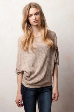 be�owy sweter Pull and Bear - jesie�/zima 2011/2012
