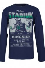 granatowa bluza Troll z nadrukiem - jesie�/zima 2011/2012