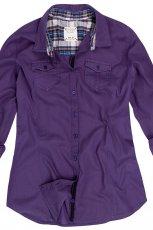 fioletowa koszula Reserved - kolekcja jesienna
