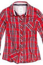 czerwona koszula Reserved w kratk� - kolekcja jesienno-zimowa