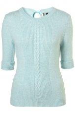 seledynowy sweter Topshop - jesie�/zima 2011/2012