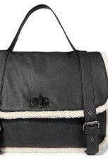 czarna torebka Reserved - kolekcja jesienno-zimowa